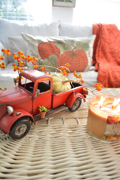 More Fall Decor - Bittersweet