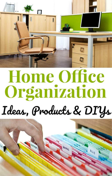 Your home office is asked to do so much for you that home office organization is critical to making it work well for you
