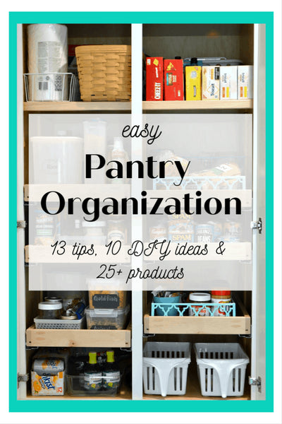 Whether you're dreaming of functional or magazine-worthy pantry organization, you'll find tips, DIY ideas and my favorite products will help you create a pantry that works for your busy life