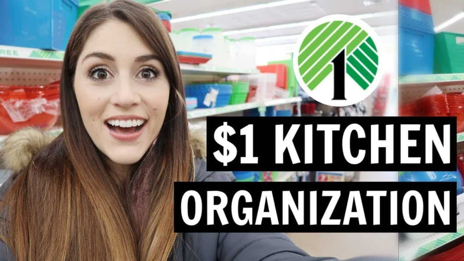 dollartree #kitchenorganization #dollartreeorganization The Dollar Tree has great organizational items