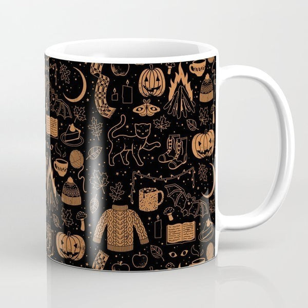 Sweet Halloween Coffee Mugs