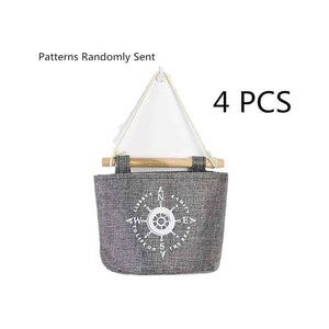 Best Fellibay Storage Basket Collapsible Linen Storage Bag Wall Hanging Basket Storage Bags Over Door Hanging Organizer Home Closet Wall Door Hanging Bag for Bedroom, Kitchen, Bathroom(4Pack)