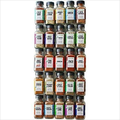 Gourmet Spice and Seasonings, Gift Spice Set - Productive Organizing