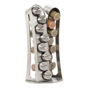 Best Kamenstein Tower 16-Jar Revolving  Spice Rack with Free Spice Refills for 5 Years