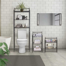 Load image into Gallery viewer, Sorbus Bathroom Storage Shelf Over Toilet Space Saver, Freestanding Shelves for Bath Essentials, Planters, Books, etc - Productive Organizing