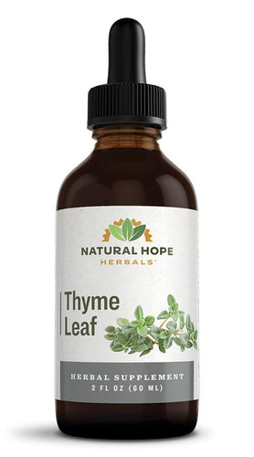 THYME LEAF - Respiratory, Digestive & Immune System Support - Productive Organizing