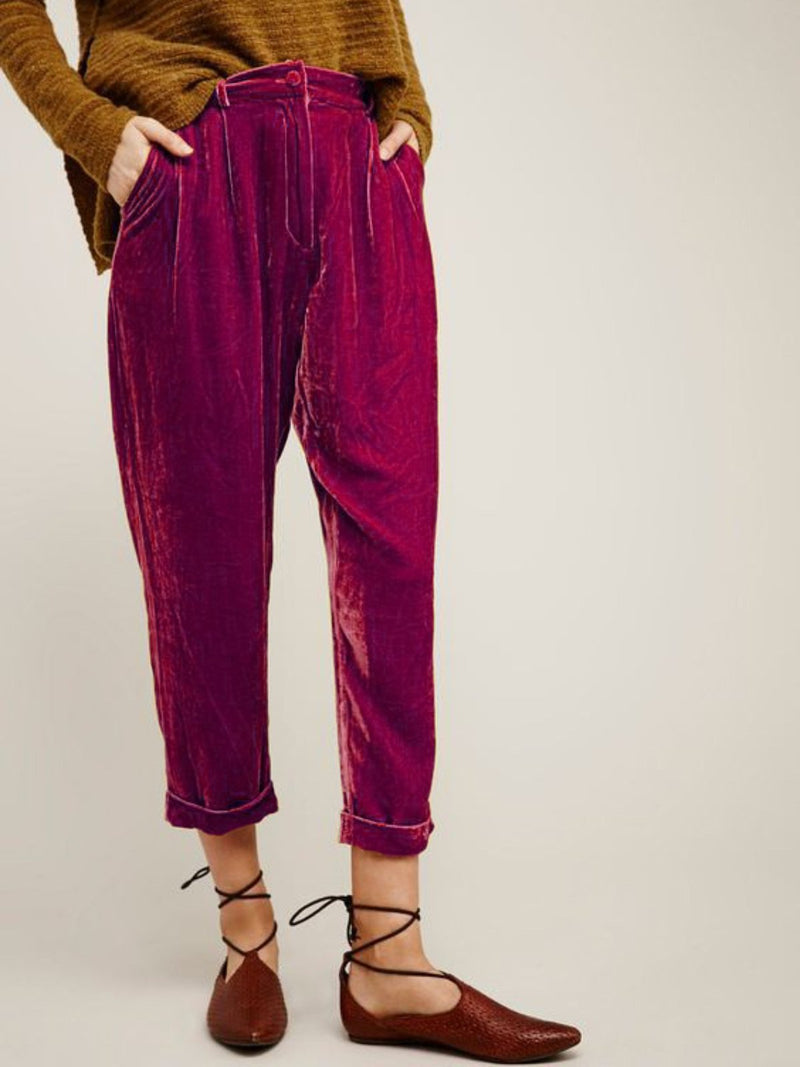 Casual Plus Size Pants With Pockets