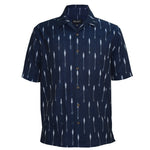 Ikat Arrow Revere Collar Shirt