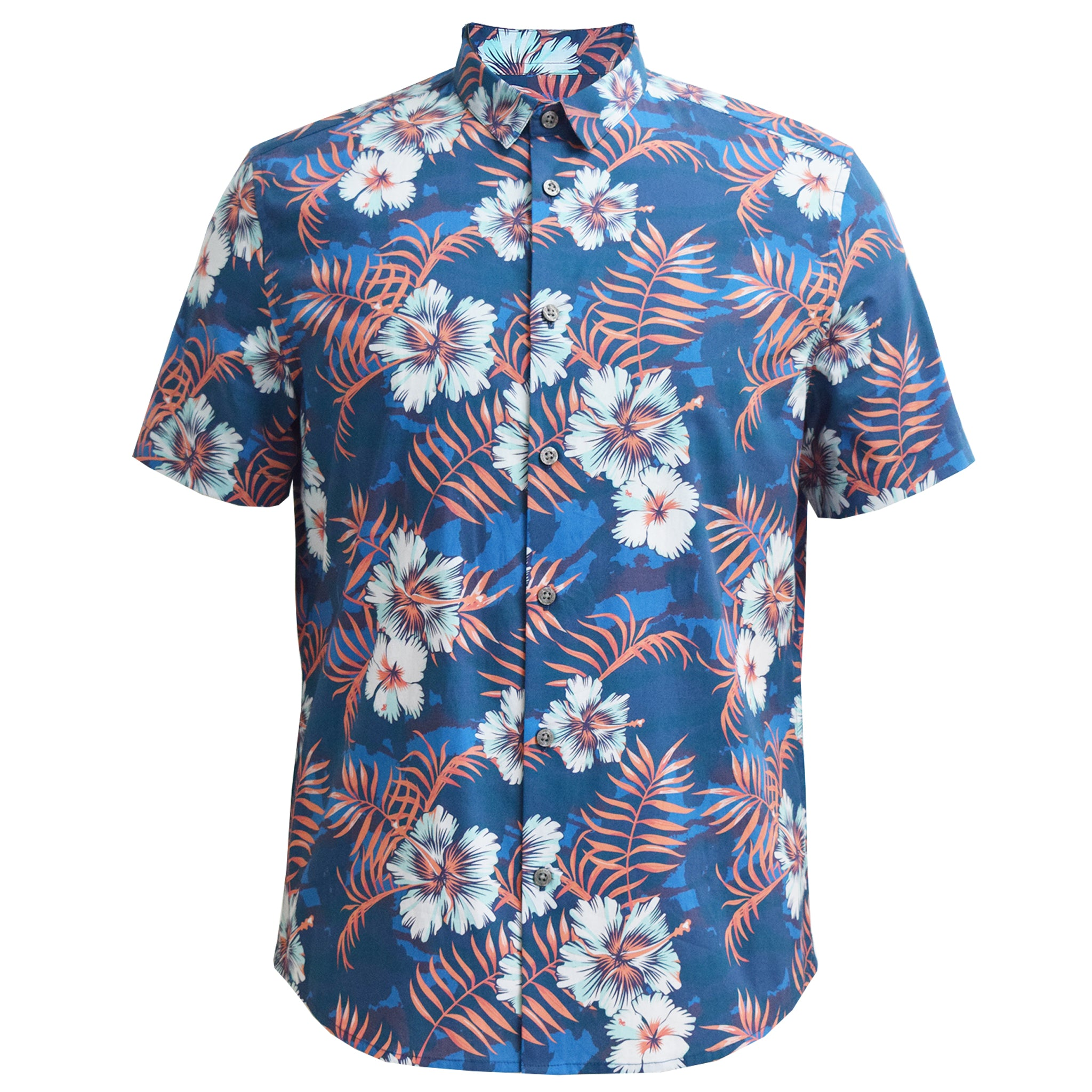 Crown Floral Classic Collar Shirt