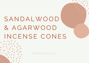 Sandalwood and Agarwood Incense Cones