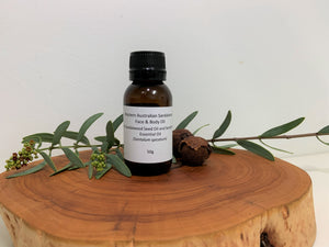 Western Australian Sandalwood Face and Body Oil - New Mountain