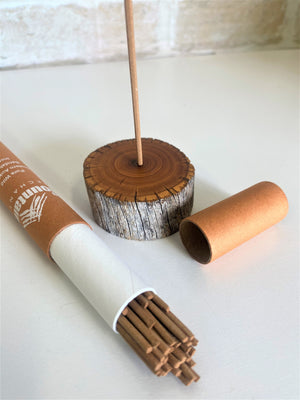 Sandalwood Incense Holder & Incense Pack