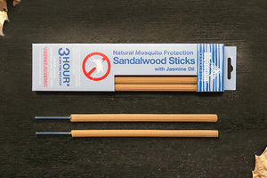 Sandalwood & Jasmine Mosquito Sticks 3 Hour - New Mountain