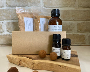 New Sandalwood and Rose Water Cosmetic Sample Pack