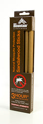Sandalwood Mosquito Sticks 3 Hour - New Mountain
