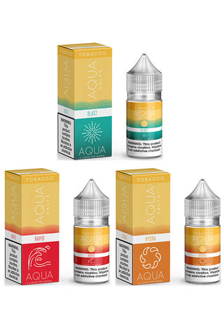 Aqua Tobacco Salts E-Liquid - 30mL