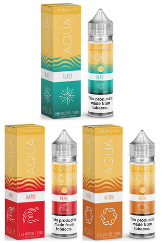 Aqua Tobacco E-Liquid - 60mL