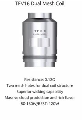 SMOK TFV16 Replacement Coils - 3 Pack