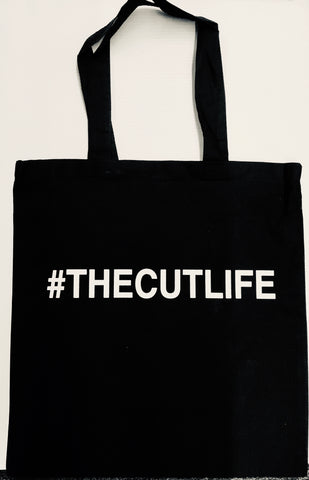 The Cut Life tote bag
