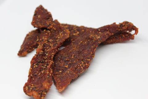 Black Peppered Beef Jerky
