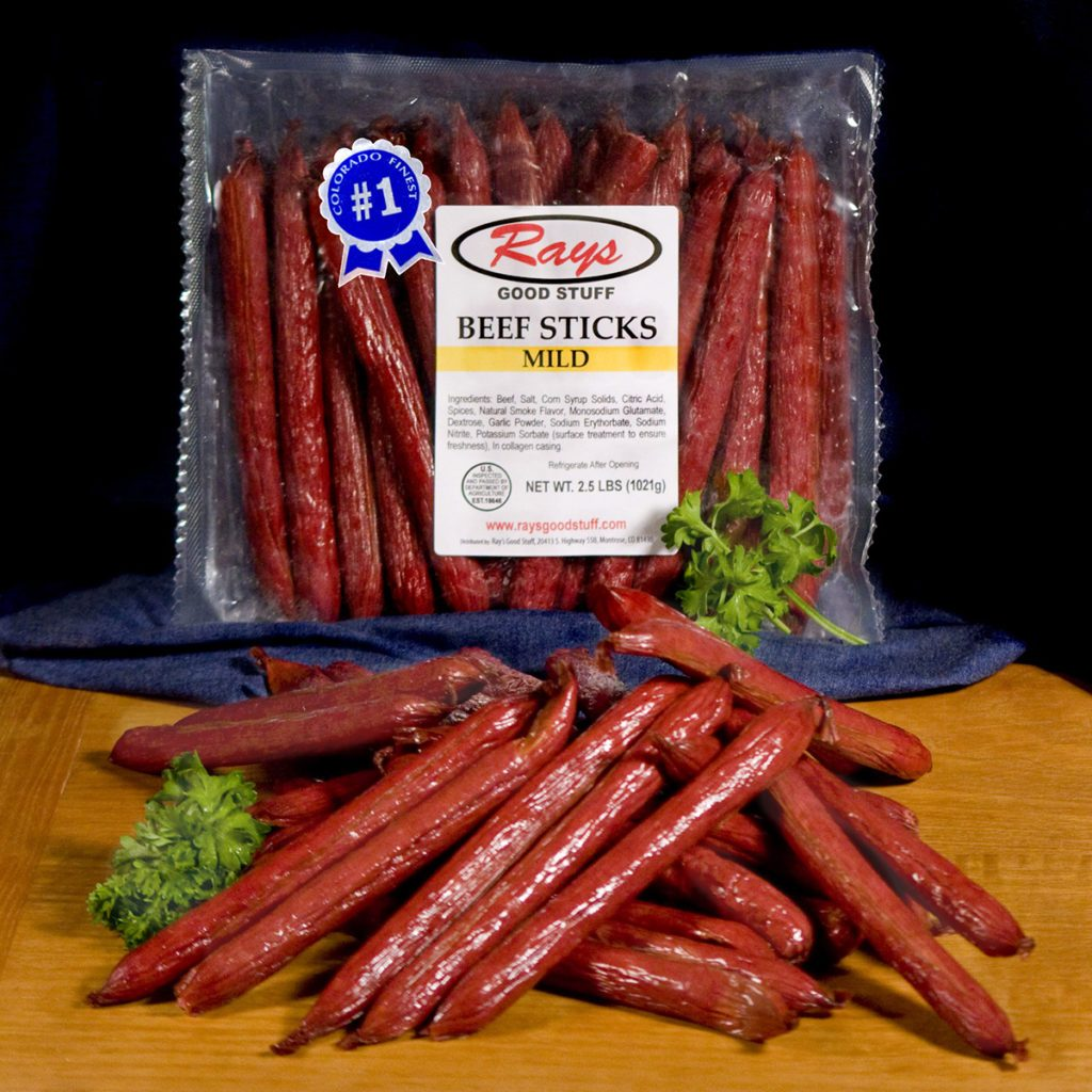 Mild Beef Sticks 2.5 Ib Bag