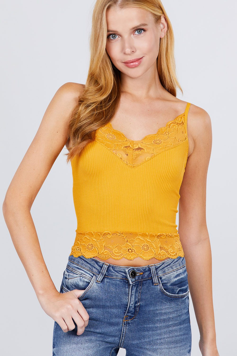 Seamless V-neck Cami