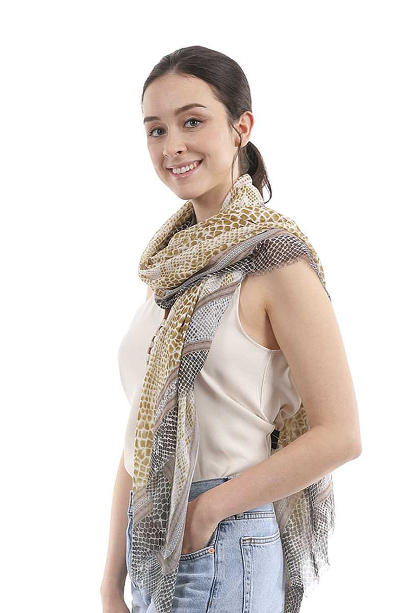Fashion Snake Skinny Scarf