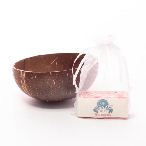 Coconut Bowl and Soap