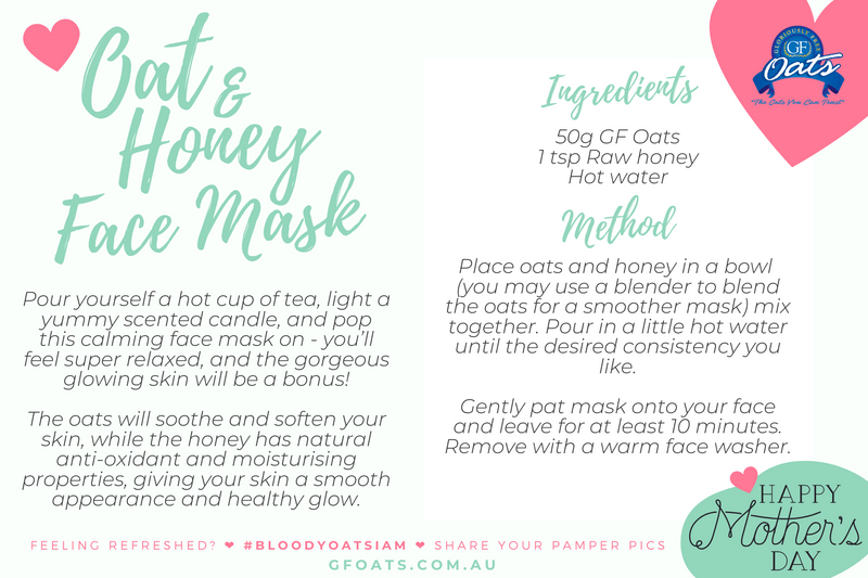 Mother's day Face mask recipe