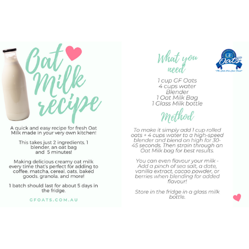 Oat Milk Making Kit