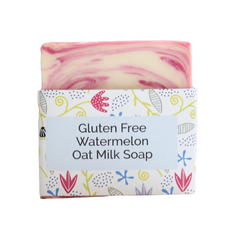 Gluten Free Oatmilk Soap - Watermelon