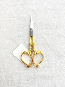 Art Nouveau Embroidery Scissors 4.2""