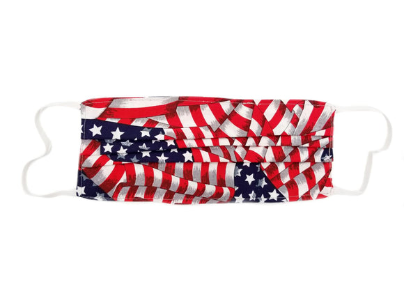 Chara Designs Mask with Elastic - Flag