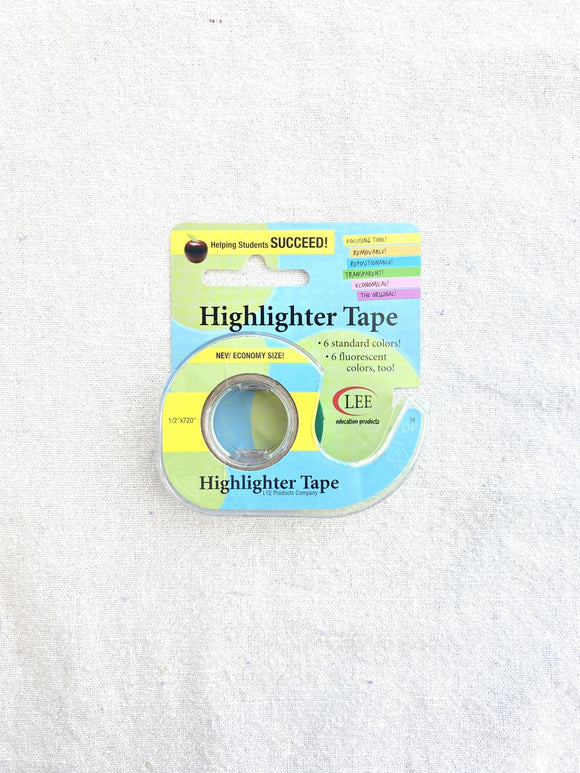 Econo Highlighter Tape Green