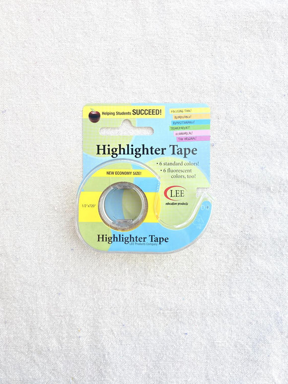 Econo Highlighter Tape Yellow