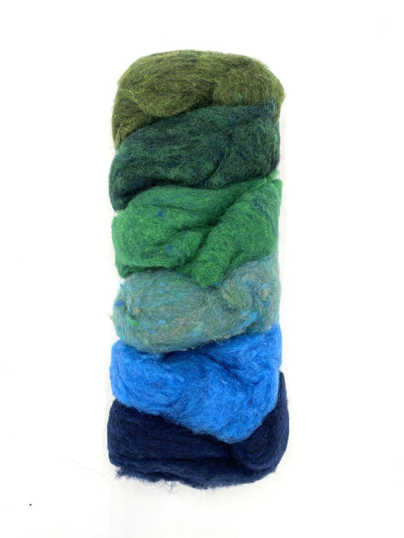 GoingGnome Wool Pack - Blue/Green