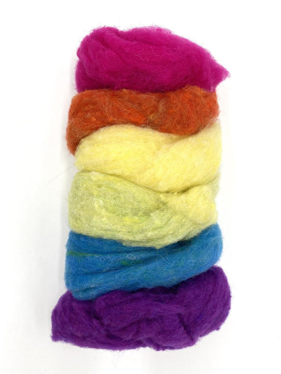 GoingGnome Wool Pack - Bold Rainbow Tones