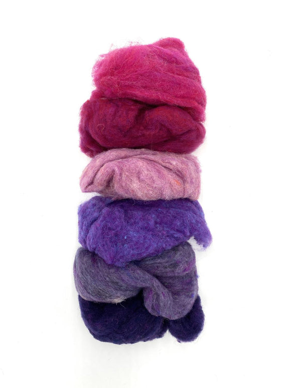 GoingGnome Wool Pack - Pink/Purple
