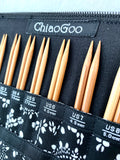 "ChiaoGoo 5"" Bamboo Interchangeable Set Complete"
