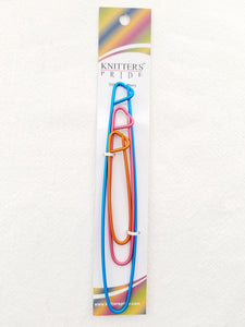 Knitters Pride Stitch Holders Set - 3 Sizes