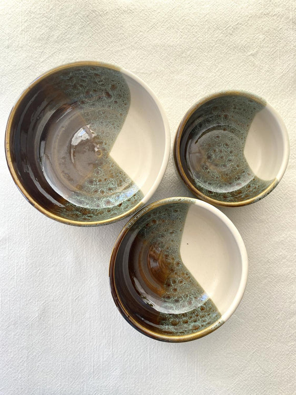 My Restless Art Nesting Bowl Set - Greens