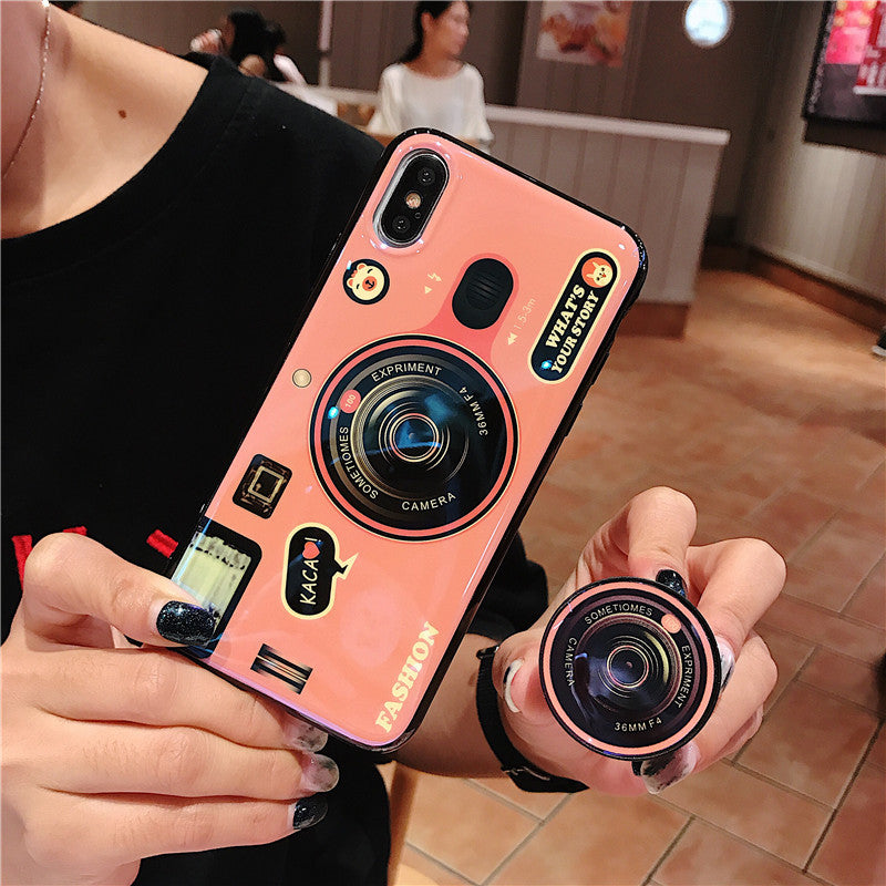 Pink Camera Phone Case for iPhone