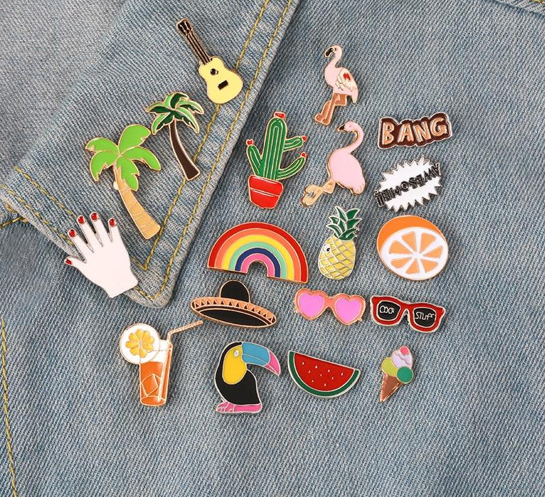 Summer Pins Collection