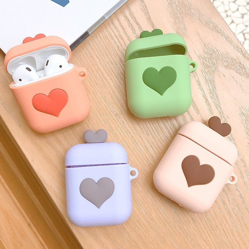 Heart Airpods Case Cover