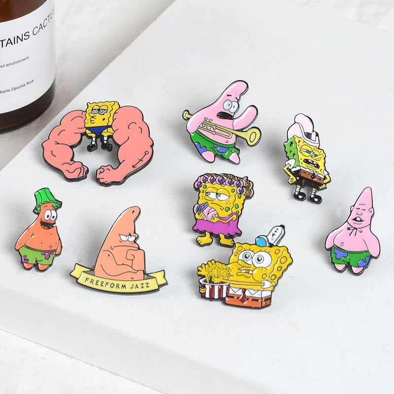 Sponge Bob Square Pants Meme Pins