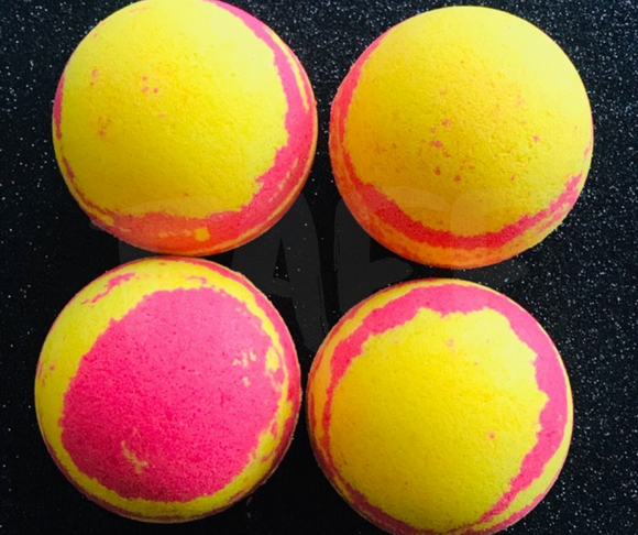 TAFF Pineapple and Peach Bath Bombs