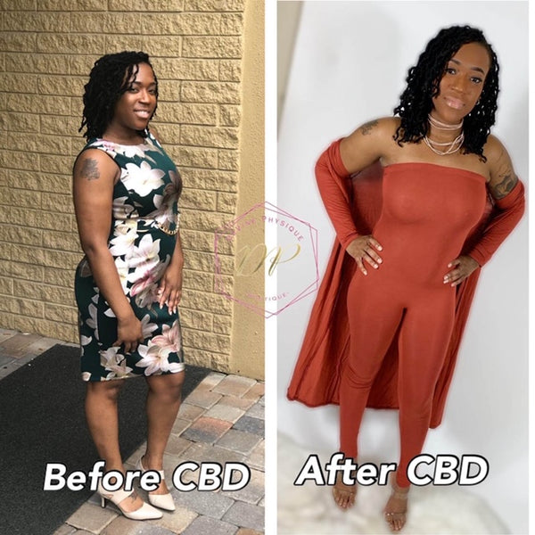 Postpartum Weight Loss with CBD TEA