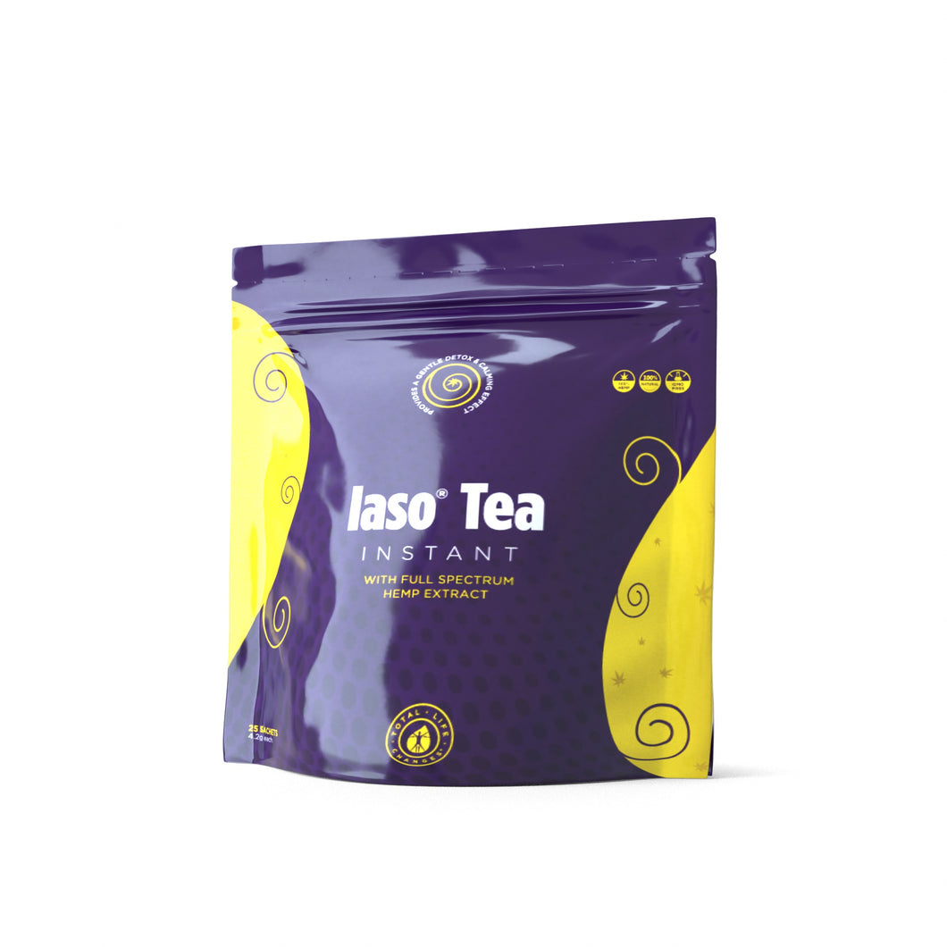 Iaso® Tea Instant with Hemp Extract - 25 Sachets