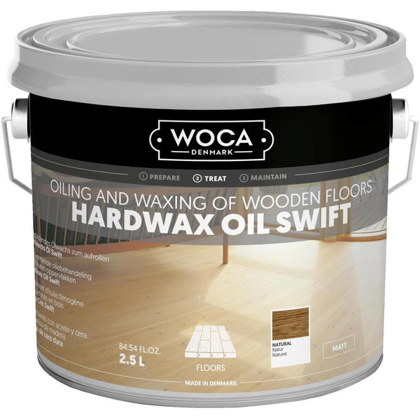 Hardwax oil Swift - Huile cire sans lustrage à séchage rapide