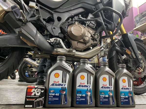 Honda African Twin CRF1000L  $95 Shell Servicing Package